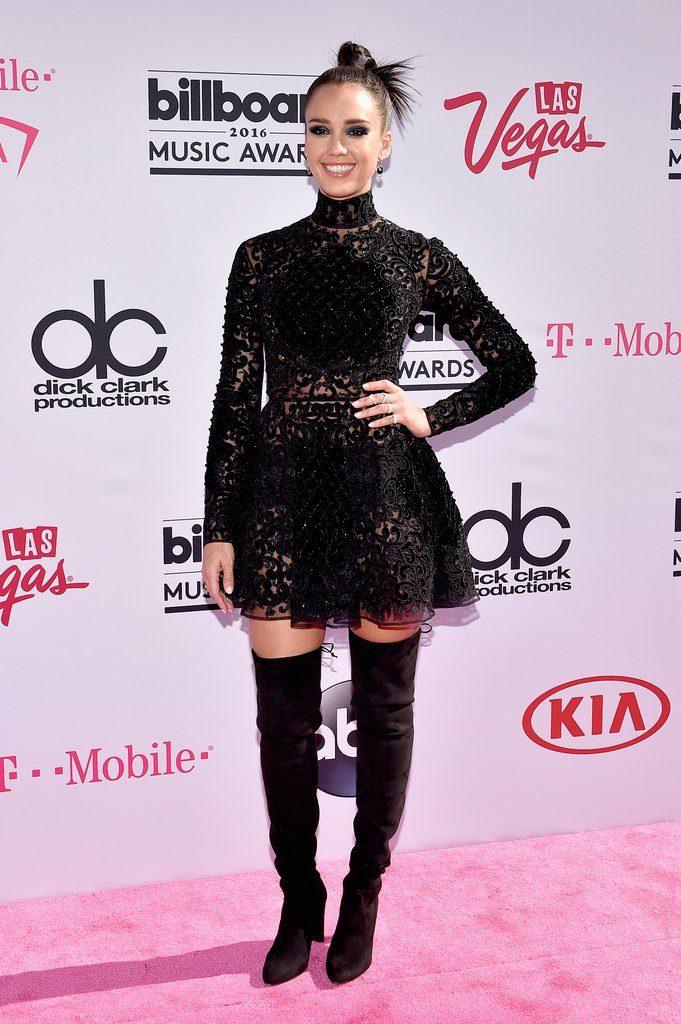 Jessica Alba at The 2016 Billboard  Music Awards Red Carpet