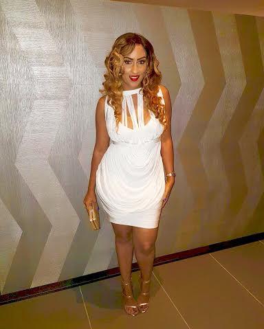 Juliet Ibrahim slays in white mini Dress styled by Swankyjerry