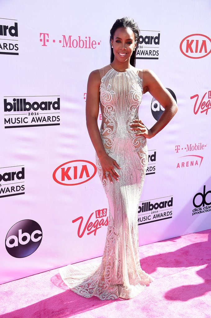 Kelly Rowland at The 2016 Billboard  Music Awards Red Carpet