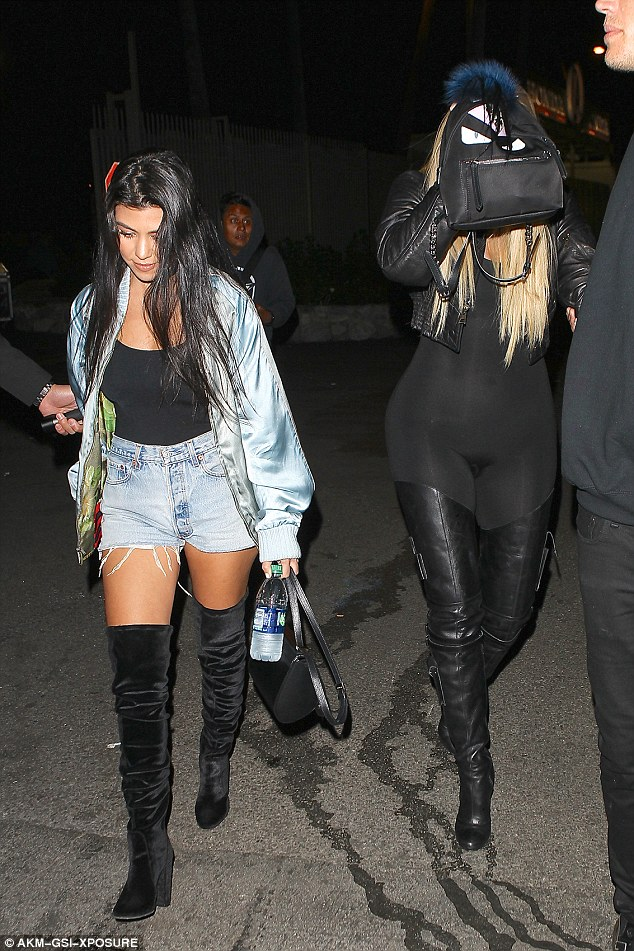 Khloe KardashianTurn Heads as she attends Beyonce's Concert in a Tight Transparent Jumpsuit