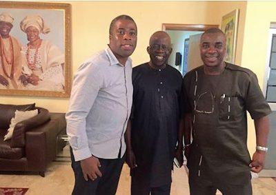 King Wasiu Ayinda (KWAM 1) Pays a Courtesy Visit to Jagaban Asiwaju Ahmed Bola Tinubu