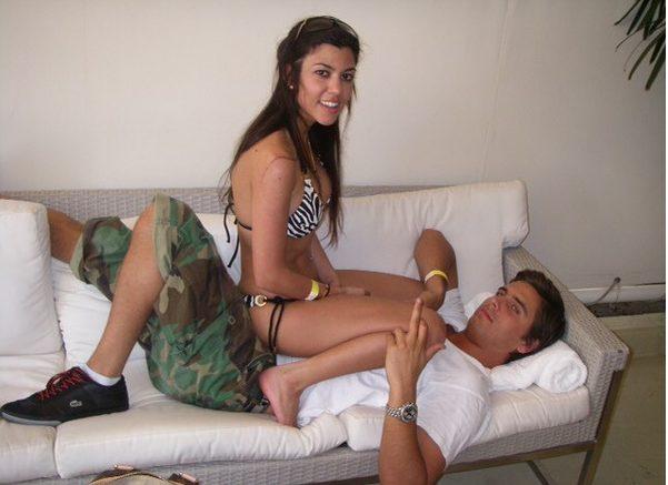 Kourtney Kardashian Straddles Scott Disick in a throwback Photo to Celebrate his Birthday