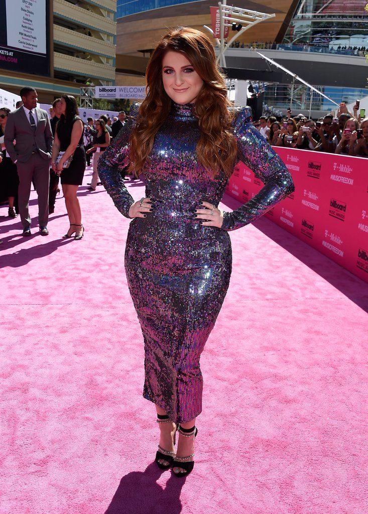 Megan  at  The 2016 Billboard  Music Awards Red Carpet