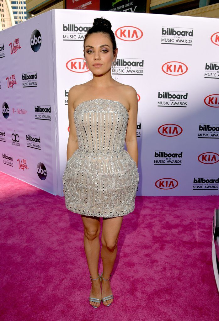 Mila Kunis at The 2016 Billboard  Music Awards Red Carpet