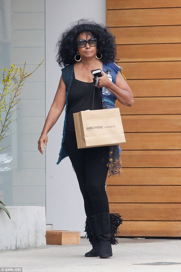 Music legend Diana Ross Keeps Slaying At 72