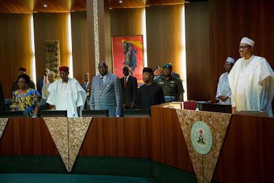 President Buhari Presides over Federal Executive Council Meeting