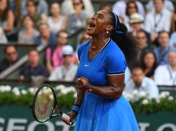 Serena Williams Overcomes French Favorite  Mladenovic, 6-4,7-6(10) to Setup a Match with Svitolina