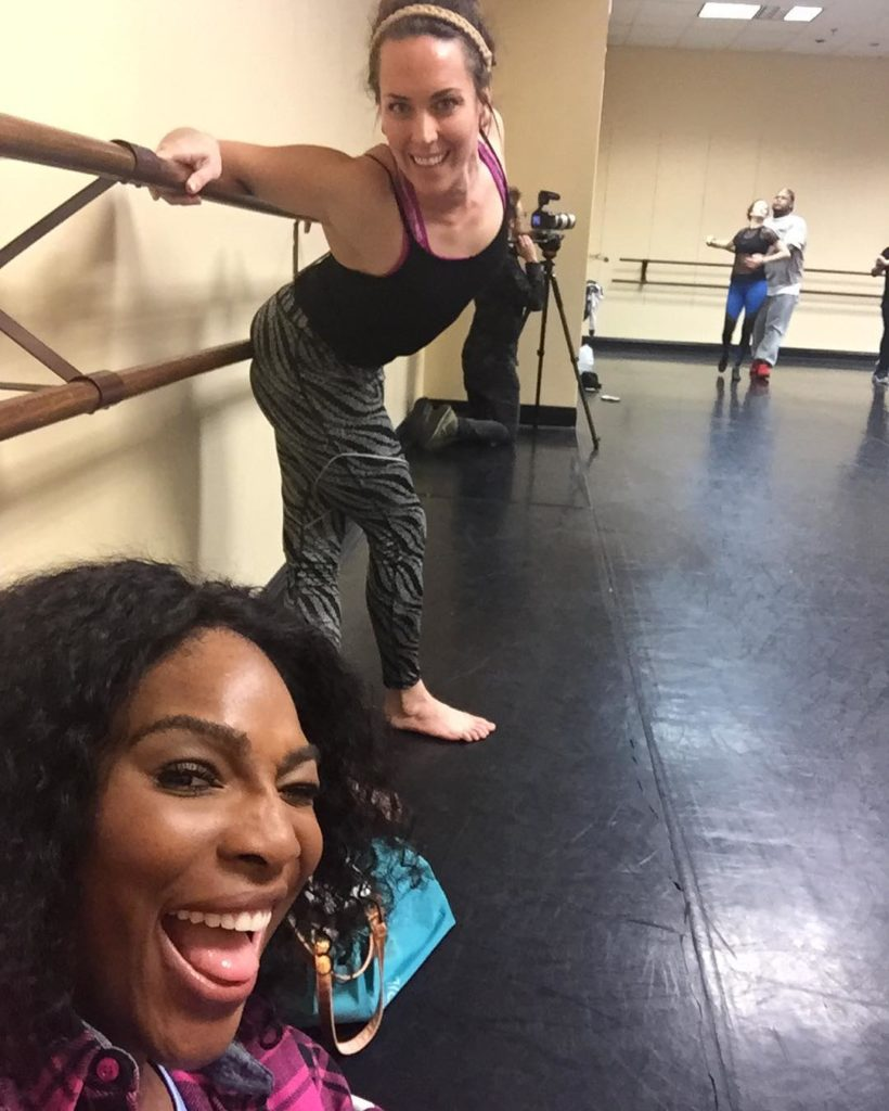 Serena Williams Shares Throwback Photo and Video From Her Dance Classes