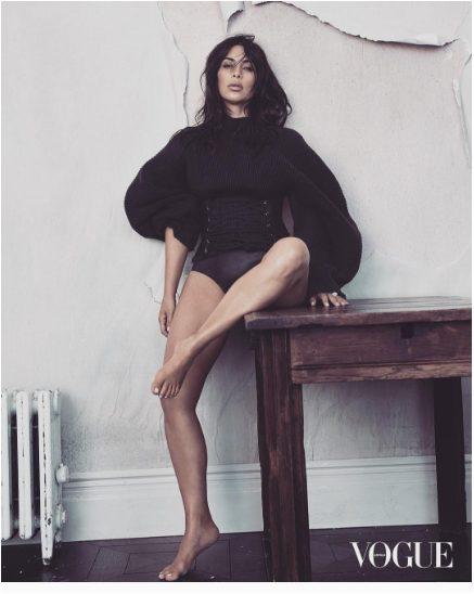 Kim Kardashian Photo-shoot for Vogue