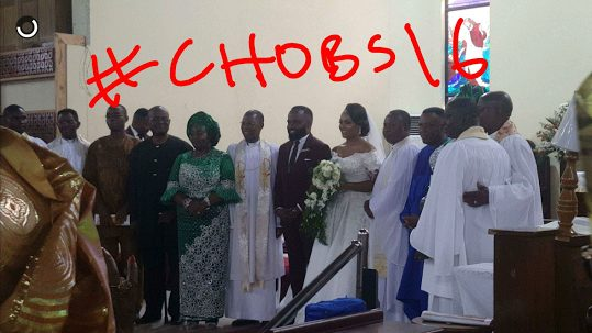 Noble Igwe and Chioma Otisi are Married