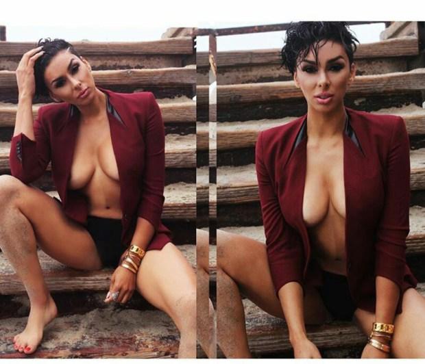Basketball Wives LA Reality TV star Laura Govan flaunts boobs in new photos