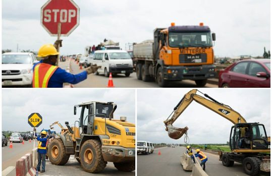 Contractors back to work, as Rehabilitation, Reconstruction and Expansion of Lagos-Ibadan Expressway