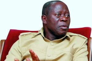 You are not Buhari's adviser-Oshiomhole slams Obasanjo