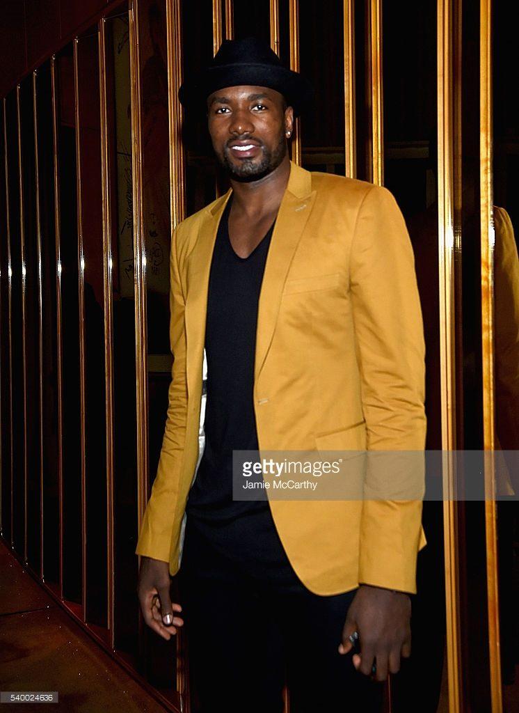 Sergi Ibaka at Serena Premiere after party