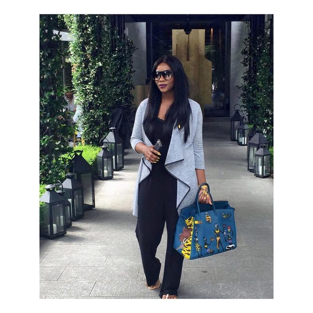 """Nollywood actress, Genevieve Nnaji Twerks and dances to Beyonce's """"Daddy Lessons"""" song"""