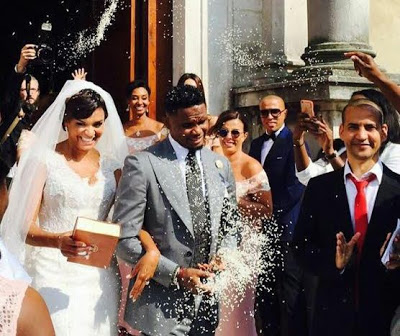 Samuel Eto'o and Georgette Tra Lou's gets married in Stezzano, Italy