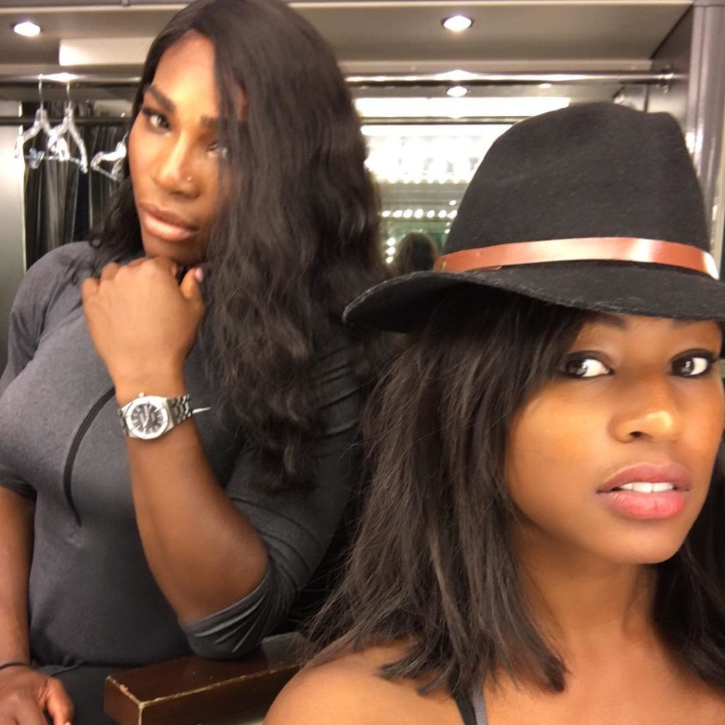 Serena Williams Shares new Photo on IG, says you're gonna love me