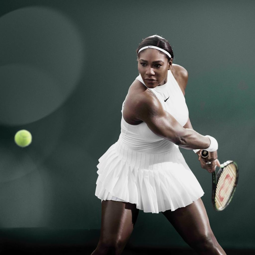 Serena Williams Shares official Photo of her Nike Wimbledon 2016 costume