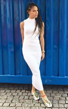Stephanie Askia stunningly beautiful in New photos