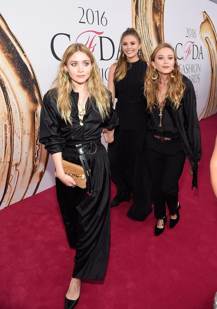 The 3 Olsen Sisters Make a Rare and Stunning apperance at the CFDA Fashion Awards