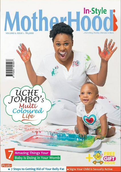 Uche Jombo And Her Son Matthew Rodriguez Wow For Motherhood Instyle