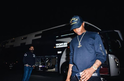 Wizkid Rakes in N72million naira from his songs on Spotify