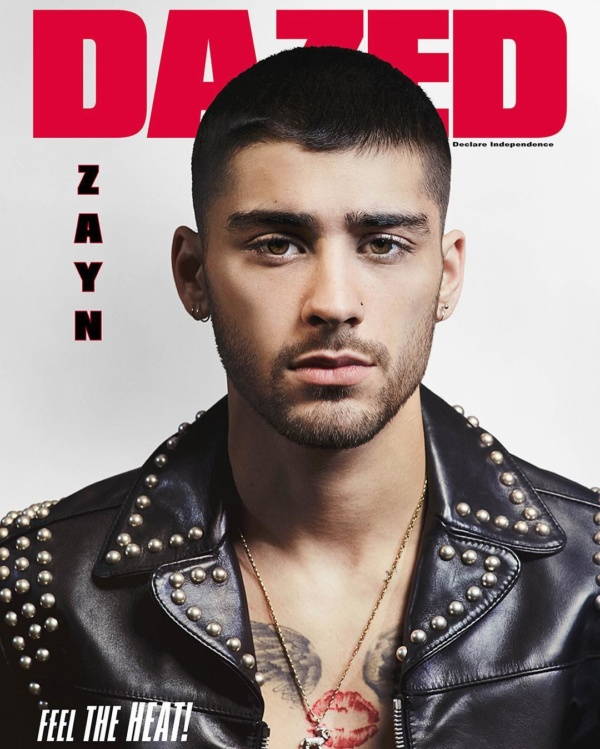 Zayn Malik Covers Dazed Magazine