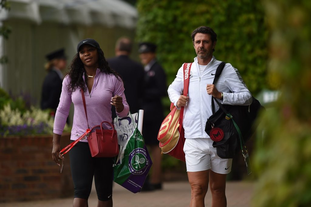 Serena Williams - This year I don't feel as much tension as I usually do