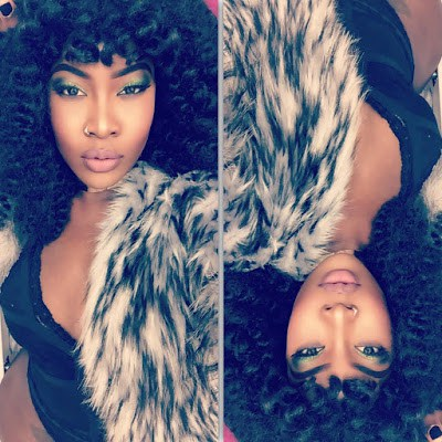 Charly Boy's Daughter Dominique Oputa gets Ranchy and Sexy hot as she unleases new Photos
