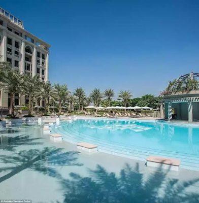 Donatella Versace opens a State of the Art grand new luxury resort in Dubai