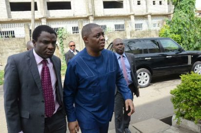Femi Fani-Kayode as been Released After Spending 2 months and two days at the detention Facilities