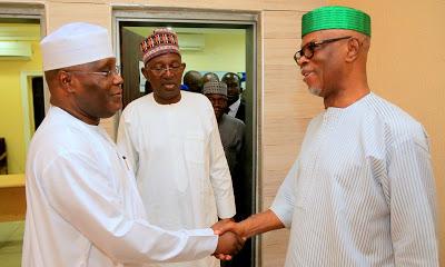 Former Vice President Atiku Abubakar Pay Courtesy Visit to APC national Chairman