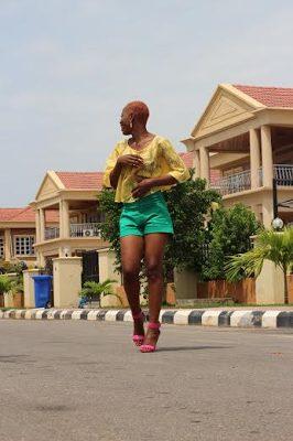 Ijeoma Grace Agu  Gets Raunchy in New Photoshoot