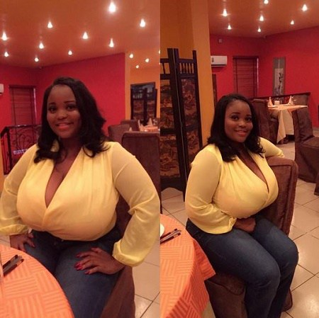 Instagram User Oluchi Aka Duchess_3 Breaks the Internet with her  With Huge Breast