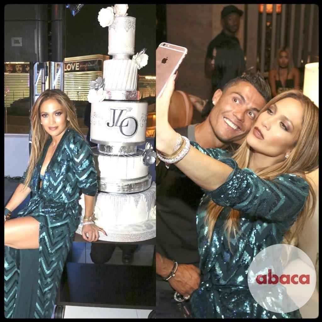 Jennifer Lopez Parties with Cristiano Ronaldo
