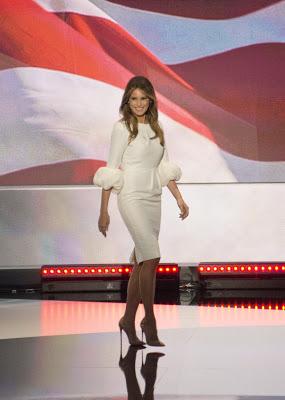 "Melania Trump's off-white Roksanda ""Margot"" dress sells out"