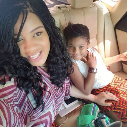 Monalisa Chinda shares mother to daughter moments with Tamar Chinda