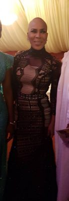 Nollywood Actress Fathia Balogun Flawless and Amazing with her short Haircut at the City People Awards 2016