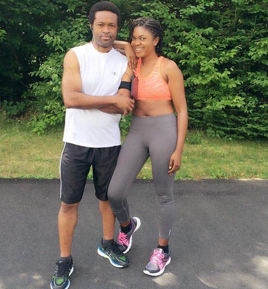 Omoni Oboli flaunts her toned belly as she enjoys with her birthday husband