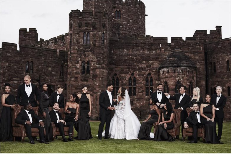 Photos from Ciara and Russell Wilson White Wedding
