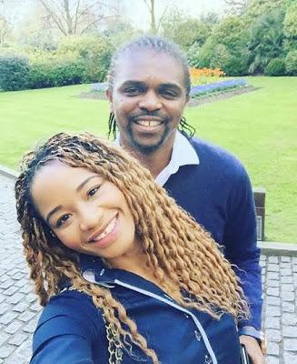 Retired Nigerian Football legend Kanu Nwankwo' and Wife, Amara shares testimony as they celebrate their 12th wedding anniversary