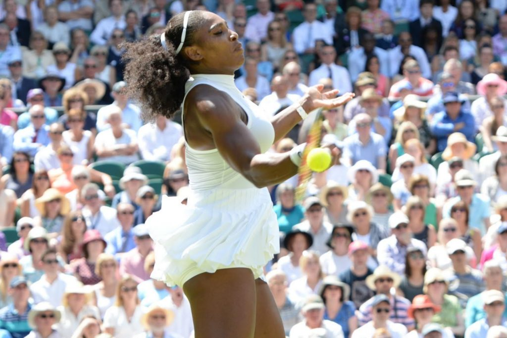 Serena Williams On a Cruise Control as she Demolishes Elena Vesnina in just 48 MINUTES to reach Wimbledon 2016 final