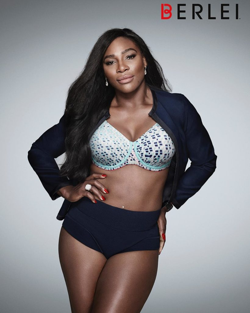 Serena Williams Super Sexy in new Berlei Bra