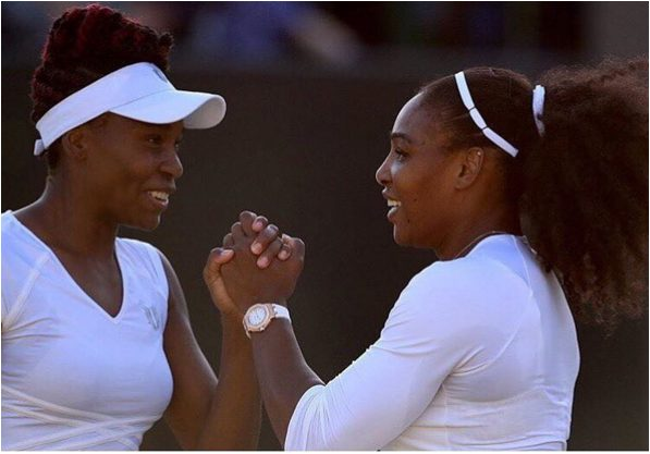 Serena Williams shares an Adorable Photo of Her and Venus Williams at Wimbledon 2016