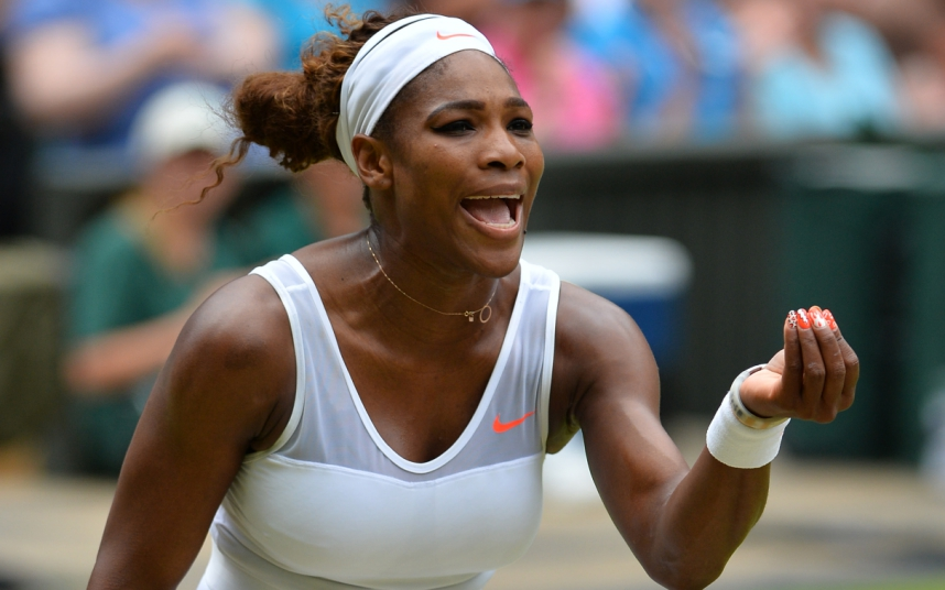 Serena Williams threatens to sue Wimbledon referee over slippery grass as she slipped while on court