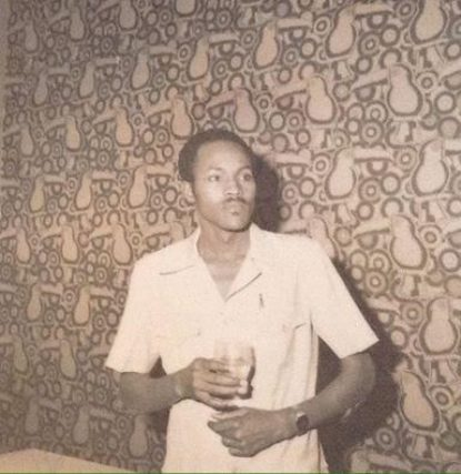 Throwback photo of President Buhari looking Dapper when he was a young man