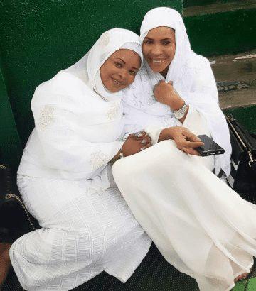 Fathia Balogun and Dayo Amusa