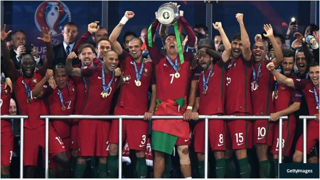 Portugal wins Euro 2016 by defeating France in Extra time 1-0