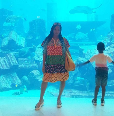 Adaeze Yobo and her sons enjoys vacation in Dubai