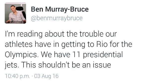 Ben Murray-Bruce Wade in on stranded Olympic football team